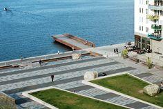 Sjövikstorget by Thorbjörn Andersson with Sweco architects 01 « Landscape Architecture Works   Landezine