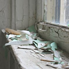 Rustic Still Life Photography, Peeling Paint, Fine Art Photography, 8x8 Print, home decor, Detroit, abandoned, pastel, blue, green, usd20.- @Paseoclick Colectivo Fotográfico