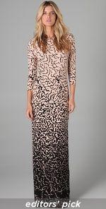 ocelot dress, tibi