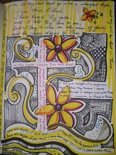 """My """"praying in color"""" journal"""