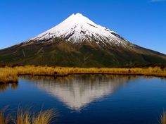 This is Mt Taranaki but it is known by another name as well which is Mt Egmont. If you ever wanted a good view of New Zealand you would just have to climb this mountain it is also the most climbed mountain in New Zealand. Mt Taranaki was also featured in The Last Samurai except in the movie it was called Mt Fuji.