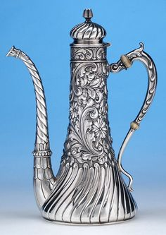 Gorham Sterling After-Dinner Coffee Pot, 1891