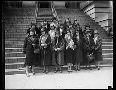 National Association Women Lawyers, asking for United States Plenipotentiaries to the Hague to vote for a World Code of equality between men and women, 1930. Harris & Ewing Collection, Library of Congress Prints and Photographs Division.