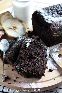 CIASTO CZEKOLADOWE NAJLEPSZE Baking Recipes, Cake Recipes, My Favorite Food, Favorite Recipes, Chocolate Banana Bread, Chocolate Cakes, Eat Happy, Christmas Party Food, Sweets Cake