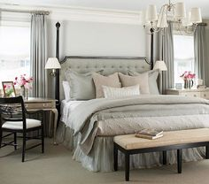 Decorating with Benches in the Bedroom