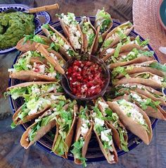 These are my kind of tacos!!! Much better than Taco Bell :D  Mexican food