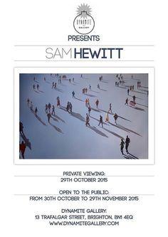 Dynamite Gallery Presents Sam Hewitt - Solo Exhibition