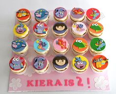 Dora the Explorer cupcake toppers Cupcake Toppers Pinterest