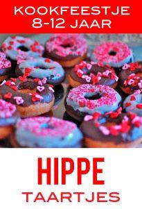 kinderkookfeestje hippe taartjes woerden