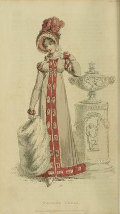 EKDuncan - My Fanciful Muse: Regency Era Fashions - Ackermann's Repository 1819