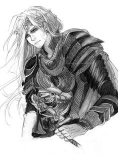Rhaegar Targaryen by Suihowl