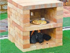 Paradise Outdoor Kitchens For Entertaining Guests Grill Outdoor, Pizza Oven Outdoor, Outdoor Cooking, Oven Diy, Diy Pizza Oven, Pizza Ovens, Wood Fired Oven, Wood Fired Pizza, Brick Bbq