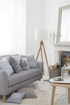 Nordic Winter - Living Room Design Ideas & Pictures - Decorating Ideas (houseandgarden.co.uk)