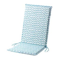 IKEA - NÄSTÖN, Seat/back pad, outdoor, , Ties and a strap keep the seat/back pad firmly in place on the chair.The seat/back pad has a longer life, since it can be turned over and used on both sides.