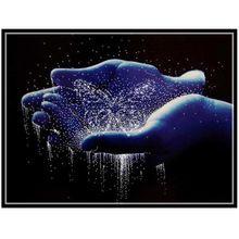 Embroidery,Diamond mosaic,DIY 5D Diamond painting,3D Diamond stitch,Diamond Embroidery Pattern Rhinestone Hands Cross Stitch(China (Mainland))
