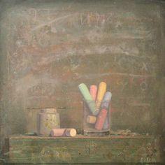 Kirill Doron, Chalk, 2009 Courtesy Gallery Henoch, New York City