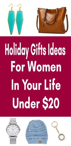 Looking for budget-friendly gift ideas for the women in your life? Here are eight great ideas to scoop up as holiday gifts for mom\'s, sister\'s, aunt\'s, and besties! via Life and a Budget | Better Finances. Carefree Living #giftsforher #giftsforwomen #giftguide #giftguide2017 #holidaygifts #giftsformoms #giftforsister #giftsforfriends