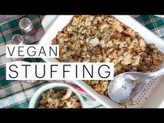 Best Vegan Stuffing Ever! | The Edgy Veg