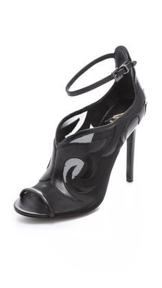 Linscott Scrolled Pumps by B Brian Atwood - Found on HeartThis.com @HeartThis
