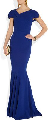 Roland Mouret Jarndyce stretch-crepe gown