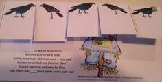 Classroom Freebies: 5 Shiny Crows Poem Printable