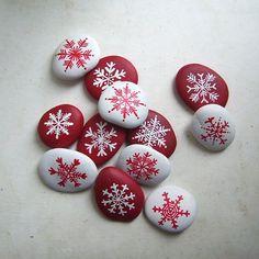 vánoční kameny