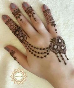 Eid Mehndi-Henna Designs for Girls.Beautiful Mehndi designs for Eid & festivals. Collection of creative & unique mehndi-henna designs for girls this Eid Henna Hand Designs, Mehndi Designs Finger, Latest Arabic Mehndi Designs, Stylish Mehndi Designs, Mehndi Designs For Beginners, Mehndi Designs For Girls, Mehndi Design Images, Mehndi Designs For Fingers, New Bridal Mehndi Designs