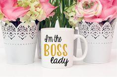 Im the boss lady Mug