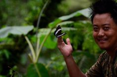 Meet Nosang Limboo from Sikkim the man who discovered Papilio xuthus Butterfly in India   Nosang Limboo (29) is a butterfly enthusiast naturalist wildlife photographer and a social worker from Sikkim. Born in a tiny village of Darap of West Sikkim to parents K.B Limboo and Sushma Gurung he completed his schooling from St. Marys School Gyalsing and Pelling senior secondary school and later graduated in English Literature from St. Josephs College Darjeeling. He has panned a pictorial guidebook…
