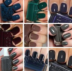 What is your go-to Fall color?! #FallNails #PrettyDollfacedAZ