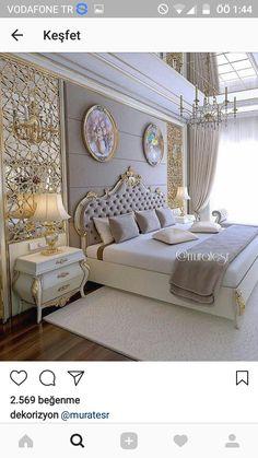 King Bedding Sets For Sale Luxury Bedroom Sets, Luxury Bedroom Furniture, Master Bedroom Interior, Luxury Bedroom Design, Girl Bedroom Designs, Master Bedroom Design, Luxurious Bedrooms, Home Decor Bedroom, Interior Design