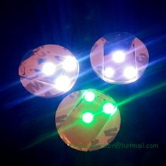 10pcs per lot LED Bottle Coaster LED Sticker Light great for party and night clubs