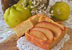 tortina cremosa di mele cotogne