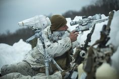 Marines with Company G, 2nd Battalion, 3rd Marine Regiment, 3rd Marine Division, III Marine Expeditionary Force, conducting a cold weather patrol at Sekiyama, Japan, during exercise Forest Light March 15, 2017.
