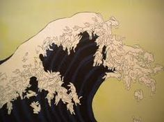 Image result for the great wave off kanagawa parody