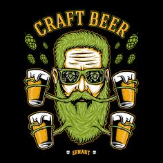Craft Beerd on Behance | Looks like the standard brewer!