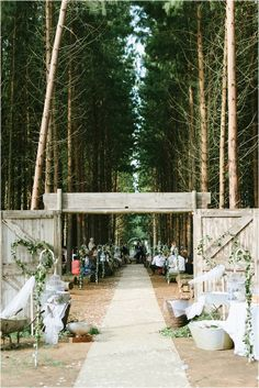 South African Woodlands Wedding by Louise Vorster - via Magnolia Rouge