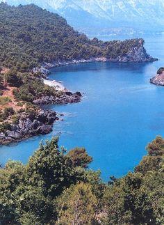 Agia Anna, Evia island, Greece Beautiful Islands, Beautiful Places, Myconos, Sailing Cruises, Cruise Destinations, Exotic Places, Greece Travel, Greek Islands, Travel Around The World