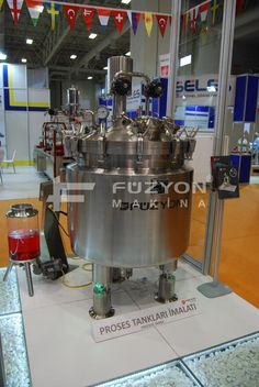 Aseptik Solüsyon Hazırlama Tankı (İLAÇ) | Füzyon Makina
