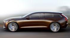 Volvo Estate Concept (2014) De eerste Officiële foto's van CAR Magazine