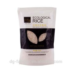 China manufacturer custom design printed laminated pp plastic rice package bags 50kg