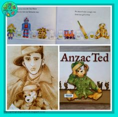 Fun, down-to-earth nature based ideas & educational resources for Grubby kids! Australia Crafts, Books Australia, Australia Day, Childcare Activities, Classroom Activities, Anzac Soldiers, Remembrance Day Activities, Read Aloud Books, Children's Books