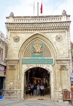 Grand Bazaar Entrance (Kapali Carsi) Istanbul, Turkey❤️ www.yourcruisesou… Grand Bazaar Entrance (Kapali Carsi) Istanbul, Turkey❤️ www. Ankara, Wonderful Places, Beautiful Places, The Places Youll Go, Places To Visit, Grand Bazar, Grand Bazaar Istanbul, Thinking Day, Turkey Travel