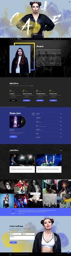 Cool Music Website design! = = = FREE CONSULTATION! Get similar web design service @ http://smallstereo.com