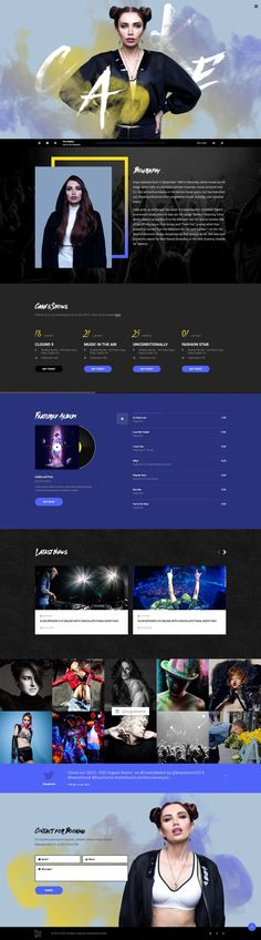 Cool Music Website design! = = = FREE CONSULTATION! Get similar web design service @ http://smallstereo.com
