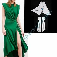 Dress Sewing Patterns, Clothing Patterns, Clothing Store Displays, Couture Sewing Techniques, Sewing Blouses, Dress Neck Designs, Column Dress, African Dresses For Women, Laura Lee