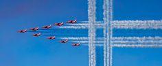 Red Arrows Helsingissä 9 .6.2017 Suomi 100-vuotta!