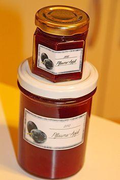 Pflaumen - Apfel - Zimt Marmelade