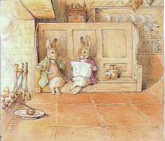Cecily Parsley's Nursery Rhymes, 1922, illustration by Beatrix Potter