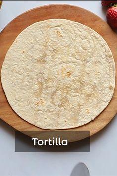 Fun Baking Recipes, Wrap Recipes, Cooking Recipes, Tortilla Dessert, Chocolate Dishes, Tortilla Wraps, Food Garnishes, Nutella Recipes, Recipe Videos